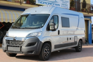 "Camper Camper - Puro - POSSL Summit - 600 PLUS 160cv 3,5t ( 16"", softlock, doppia balestra, pack sanitario)"
