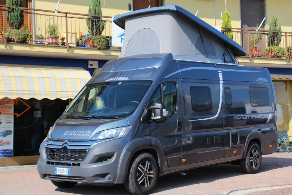 POSSL Roadcruiser Fiat 160cv 3,5t MAXI ( Elegance\ Limette  + S7 + tetto sollevabile ) - foto: 10