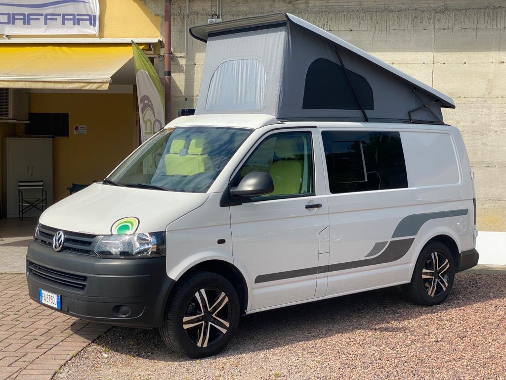 VOLKSWAGEN Transporter T5 C-Lover 102cv euro 5b ( 3 posti viaggio, con webasto ecc ) - foto: 1