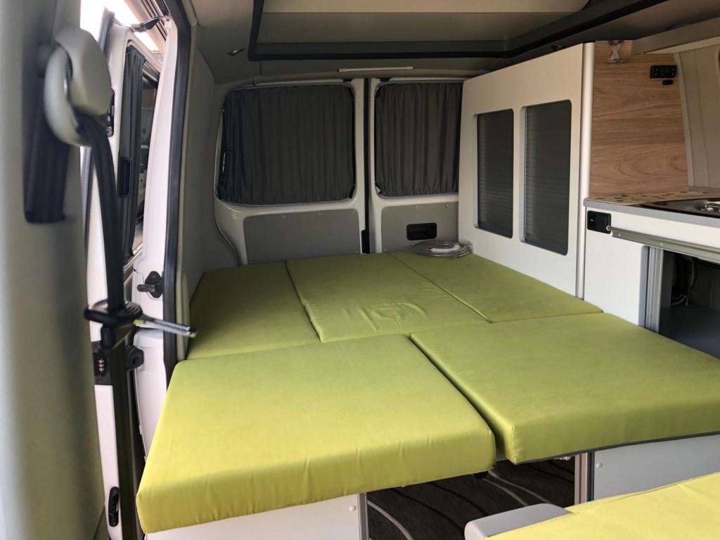 VOLKSWAGEN Transporter T5 C-Lover 102cv euro 5b ( 3 posti viaggio, con webasto ecc ) - foto: 6