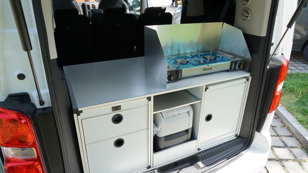 CAMPSTER VANSTER Citroen Spacetourer 2.0 150cv ( 8 posti viaggio con CampBox letto e cucina, omologato CAMPER  ) - foto: 14
