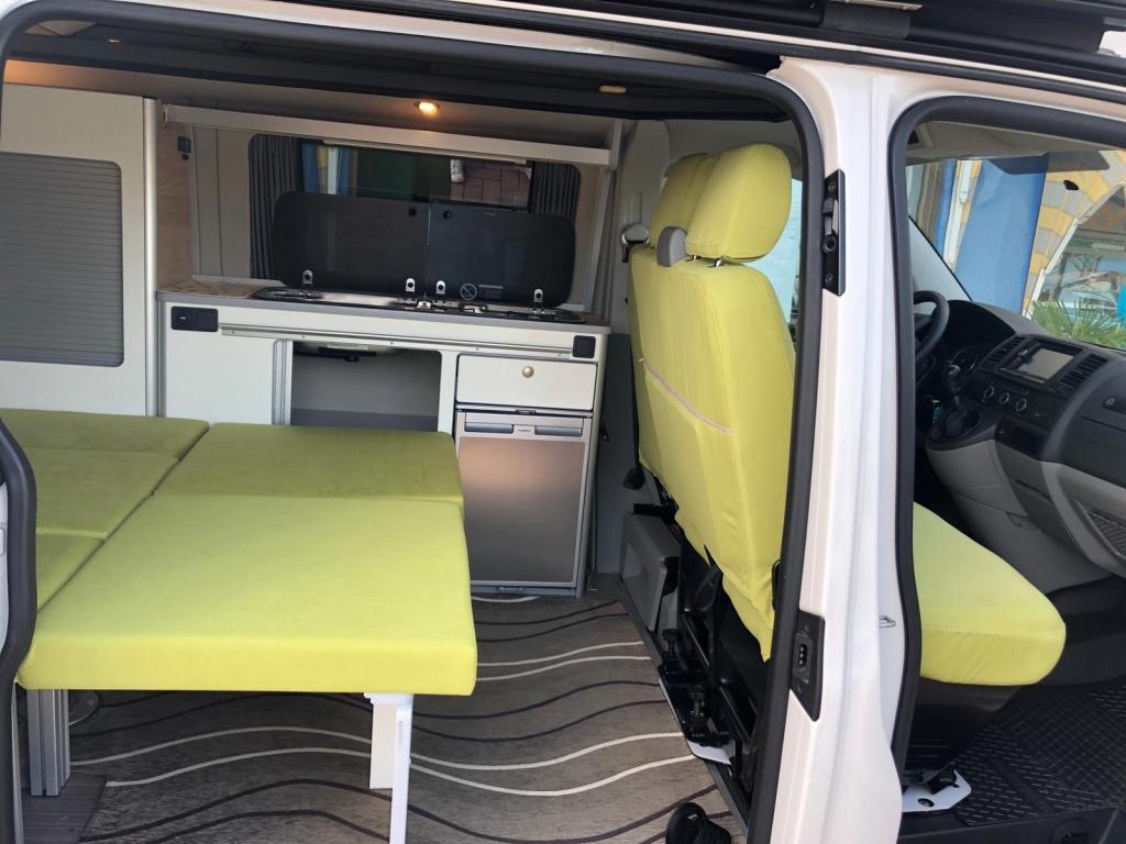 VOLKSWAGEN Transporter T5 C-Lover 102cv euro 5b ( 3 posti viaggio, con webasto ecc ) - foto: 4