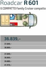 ROADCAR 601Q Doppio letto sovrapposto, ordinalo ora con soli 100€, consegna autunno 2020 - foto: 36