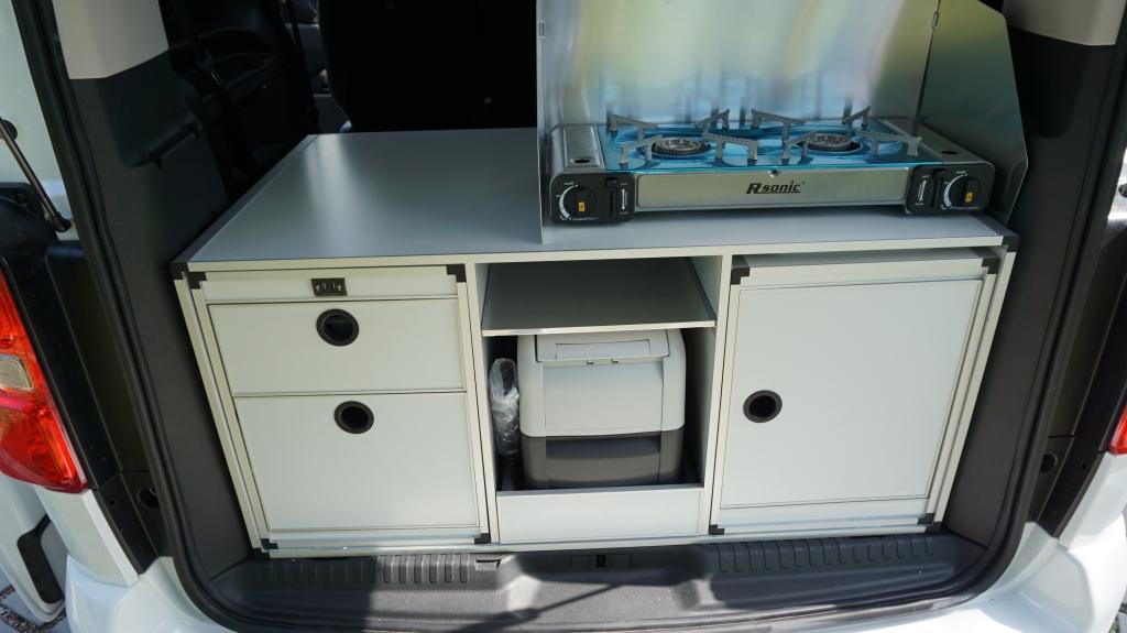 CAMPSTER VANSTER Citroen Spacetourer 2.0 150cv ( 8 posti viaggio con CampBox letto e cucina, omologato CAMPER  ) - foto: 13