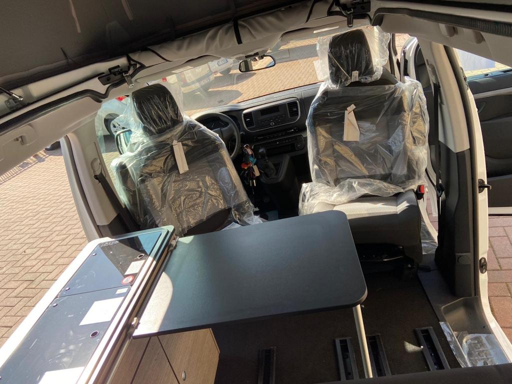 VANLINE Possl Campster Citroen SpaceTourer 120cv \ 145cv \ 145 automatico ** ULTIMO POSTO PRODUZIONE PERSONALIZZABILE ESTATE 2022 - foto: 5