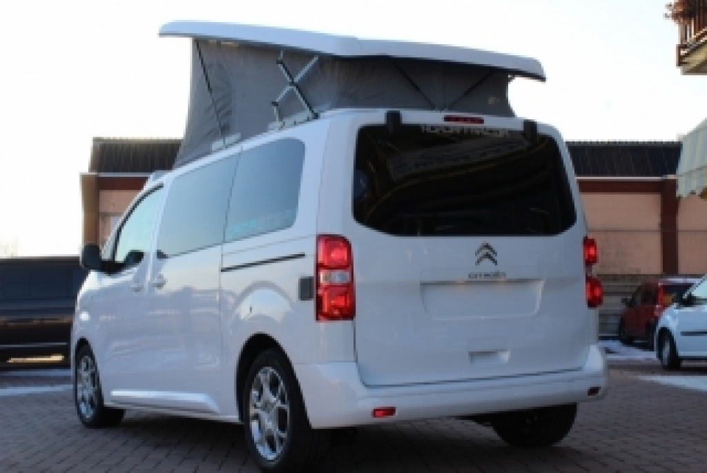 CAMPSTER Citroen SpaceTourer by Possl  (vers. camper) 2.0 150cv ( Pack sicurezza 4 , retrocamera ecc ) - foto: 2