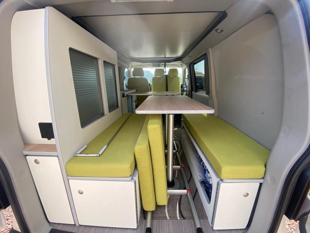 VOLKSWAGEN Transporter T5 C-Lover 102cv euro 5b ( 3 posti viaggio, con webasto ecc ) - foto: 19