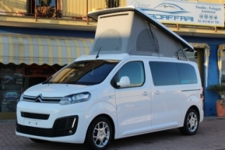 CAMPSTER Citroen SpaceTourer by Possl  (vers. camper) 2.0 150cv \  7 posti ( Pack sicurezza 4 : Active Safe Brake + retrocamera ecc )