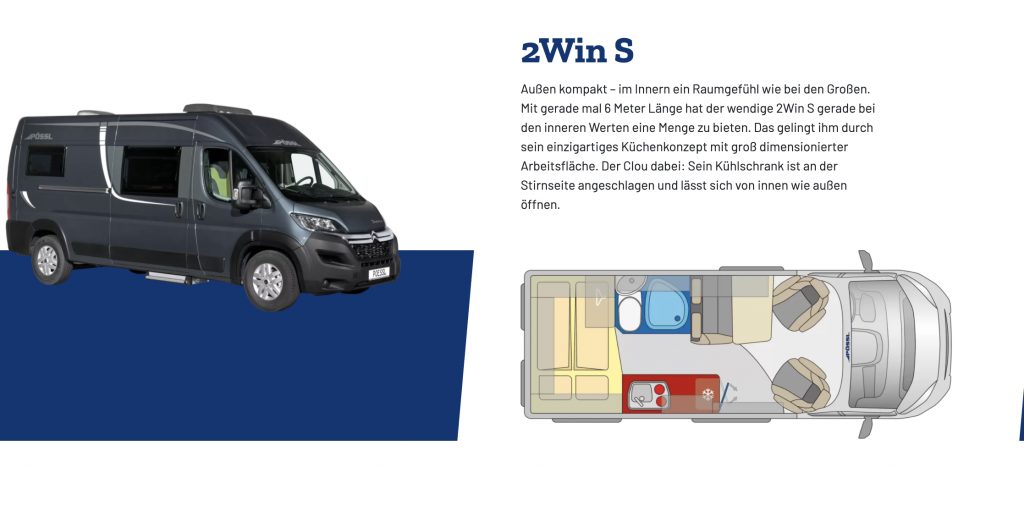 POSSL 2Win S Plus Citroen 140cv 3,5t (ULTIMO ESEMPLARE PER L'ESTATE 2021 ) - foto: 2